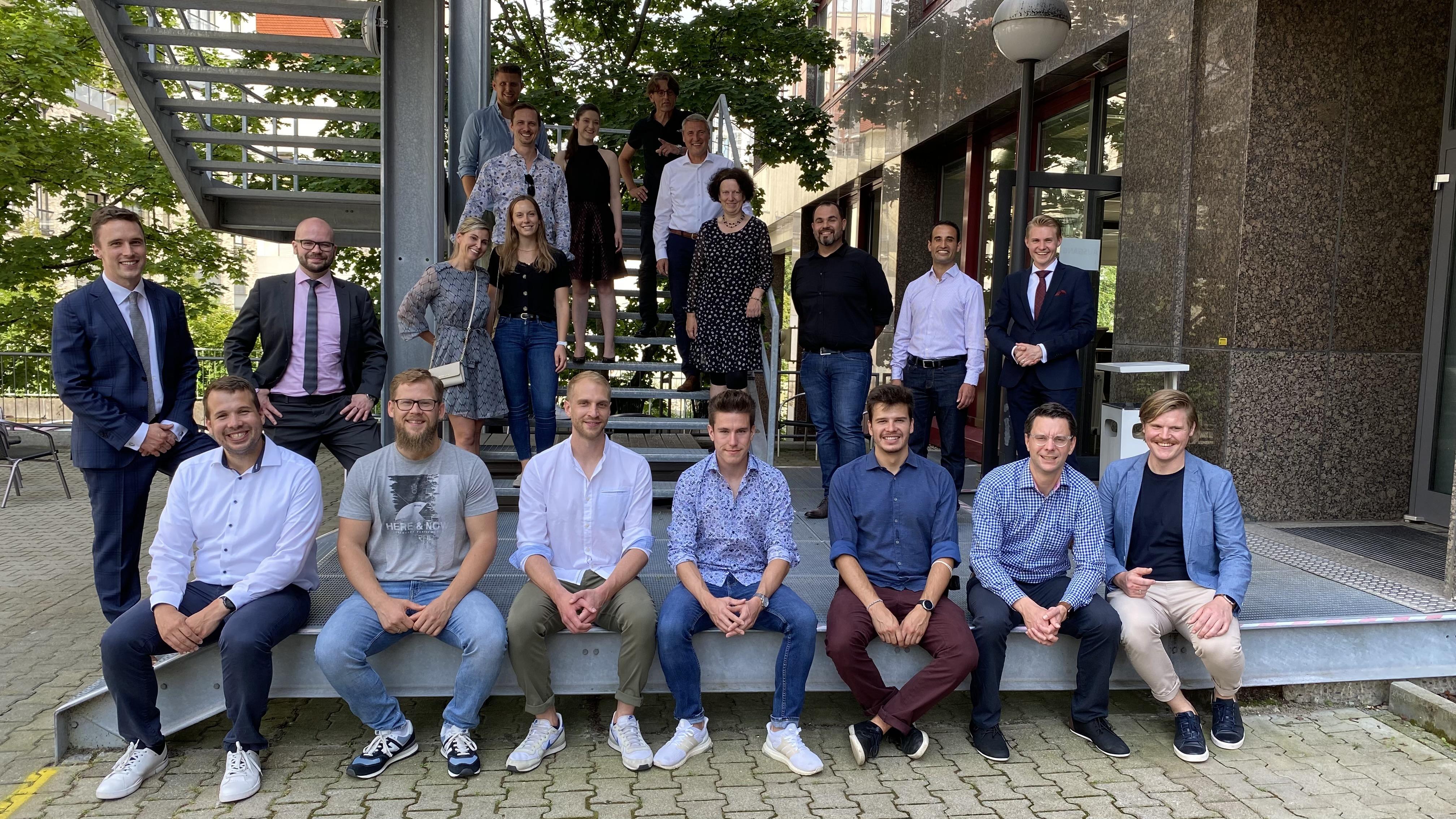 MBA Absolventinnen und Absolventen